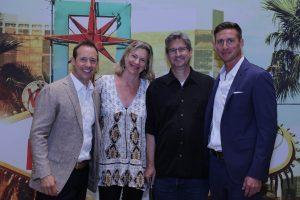 Mike Baird (L); Stacey Freeman, David Hodge & Greg Herlean (R).